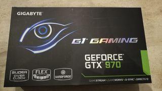 Tarjeta gráfica Nvidia GTX 970 4GBRAM Gigabyte G1