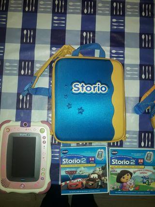Tablet infantil Vtech Storio 2