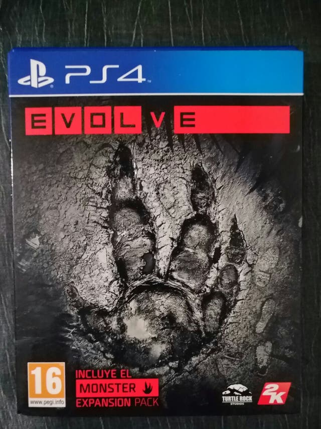 EVOLVE PS4 PLAYSTATION VIDEO JUEGO