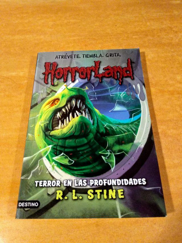 Horrorland [2]: Terror en las Profundidades.
