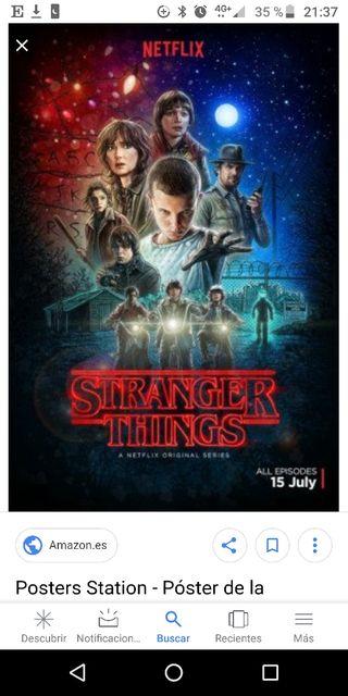Poster Stranger Things NUEVO