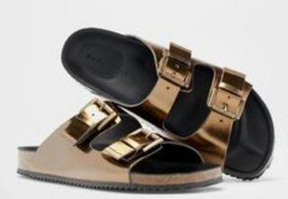 De Zara Ugly Metalizadas Home Tipo Mano Sandalia Por Birken Segunda xdCeBo