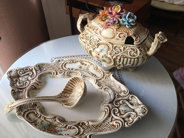 Sopera de porcelana Alfal