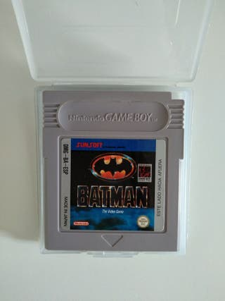 JUEGO BATMAN GAME BOY