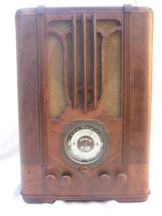 Radio Garod Mod.104 - 1935 - 125V - Funciona