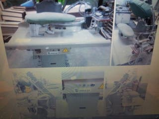 6 máquinas de planchar industrial vapor MACPI