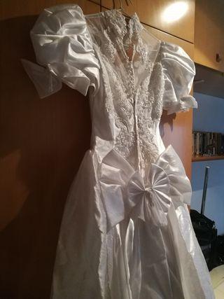 vestido de novia de segunda mano en barcelona en wallapop