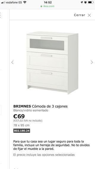 Comoda Ikea De Segunda Mano En Sevilla En Wallapop
