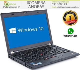 Portátil Lenovo X230, i5, 8Gb Ram, SSD, Windows 1