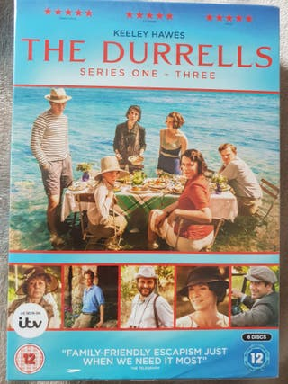 DVD The DURRELLS series 1-3 nuevo INGLÉS