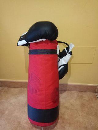 saco boxeo junior.