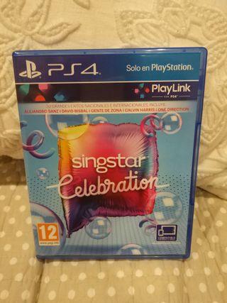 Singstar Celebration PS4