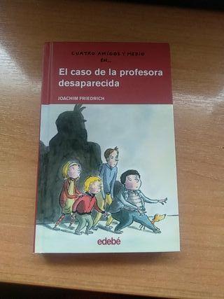 Libro El caso de la profesora desaparecida