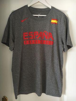 Camiseta entrenamiento selecc. española baloncesto
