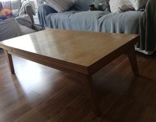 mesa centro extraible