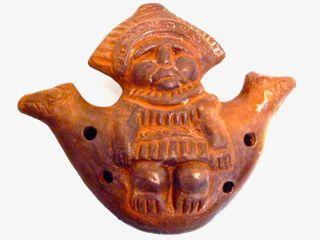 Figura Flauta Mujer reproducción. Atacama.