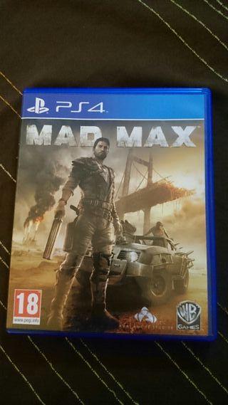 Mad max para ps4