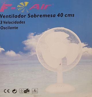 VENTILADOR DE SOBREMESA / VENTILADOR