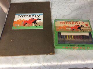 Vintage game Totopoly complete set