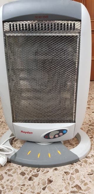 Radiador calefactor eléctrico