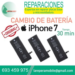 Cambiar batería iPhone 7 batería iPhone 7 bateria7