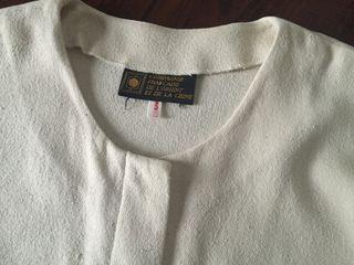 veste bourette de soie écrue CFOC T. 3
