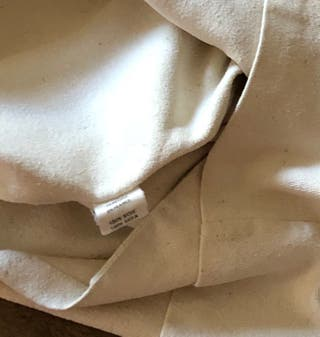 Veste écrue en bourrette de soie T. 36-38