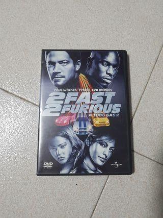 DVD A Todo Gas 2 (ORIGINAL)