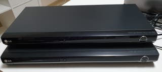 2 REPRODUCTORES CD/DVD/MP3 MARCA LG MODELO DVX380