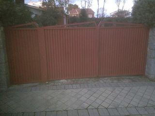 Cancela exterior 3x1,60 m aprox