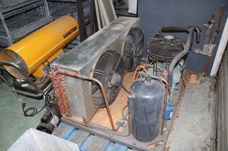 Unidad condensadora de frío con Compresor BITZER