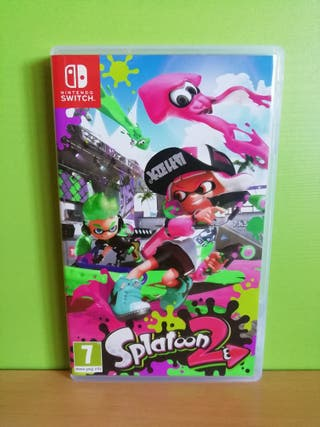 Splatoon 2 Nintendo Switch.