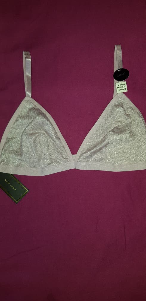c045a69574 Pink sparkly bra second hand for £10 in London in WALLAPOP