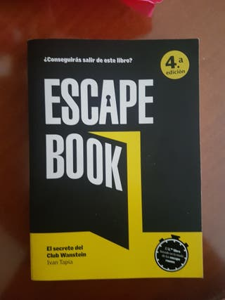 Libro Escape Book