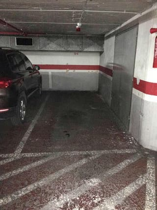 Plaza de parking