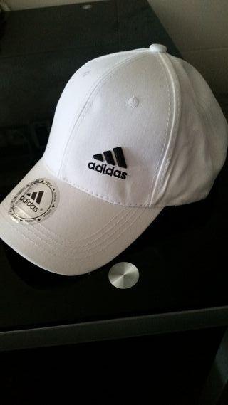 Gorra Adidas Blanca