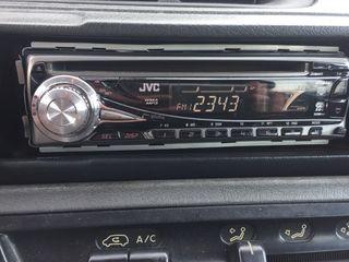 Radio cd mp3 coche JVC