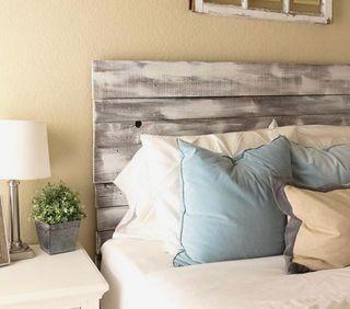 Cabeceros cama madera Palets
