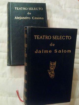 libros teatro selecto