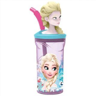 Vaso Frozen Disney figura 3D