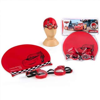 Set gafas bucear gorro Cars Disney