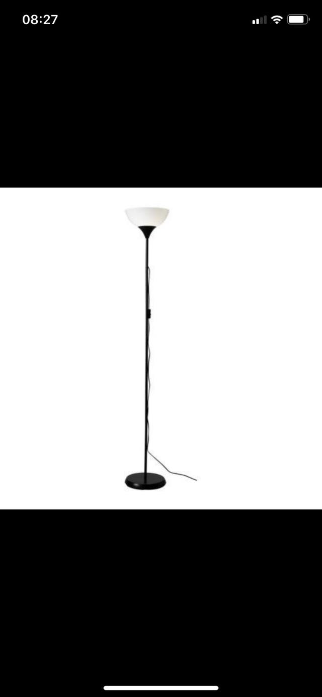 IKEA stand up lamp