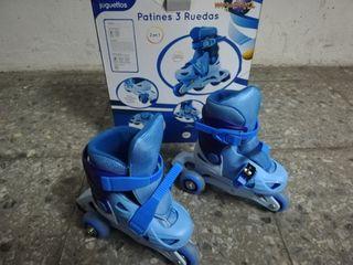 Patines niño 3 ruedas