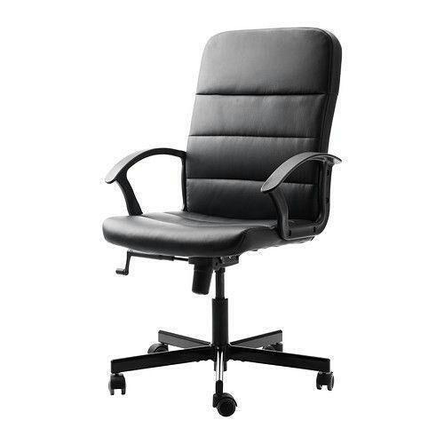 Silla oficina ajustable negro IKEA de segunda mano por 20 € en ...