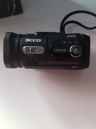 cámara de vídeo JVC 3ccd gz-mc500