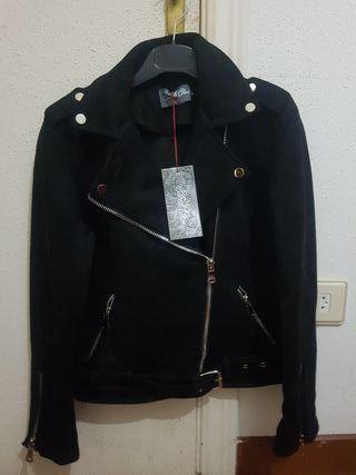 chaquetas de ante nuevas con etiqueta