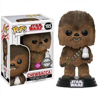Figura POP Star Wars The Last Jedi Chewbacca with