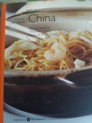 Libro de comida China