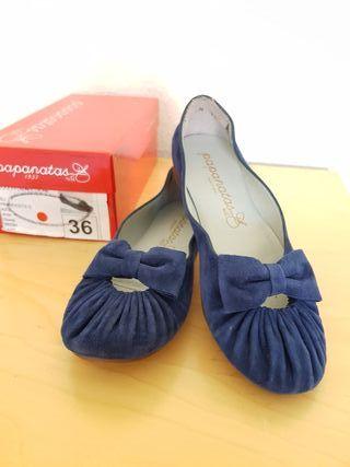 Zapato niña N 36 Papanatas