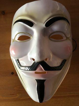 Mascara de Anonymous